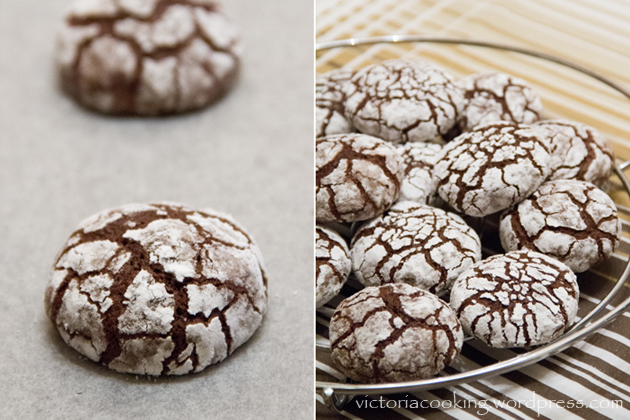 03 - Crackled chocolate cookies