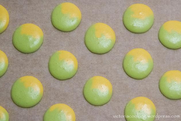 06 - Herme - Лимонно-лаймовые макаронс