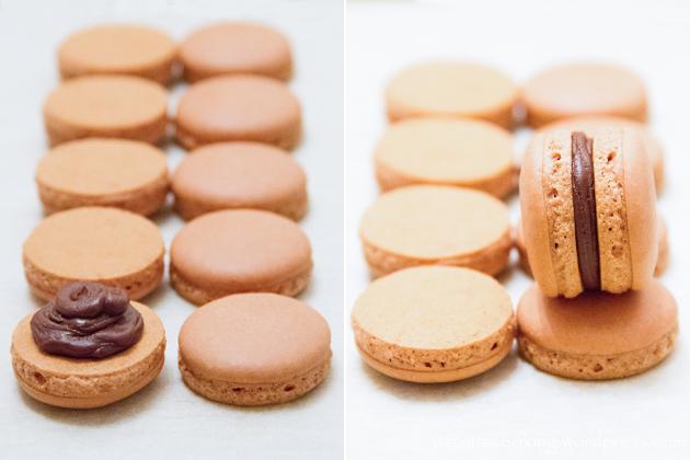 06 - Herme - Шоколадные макаронс