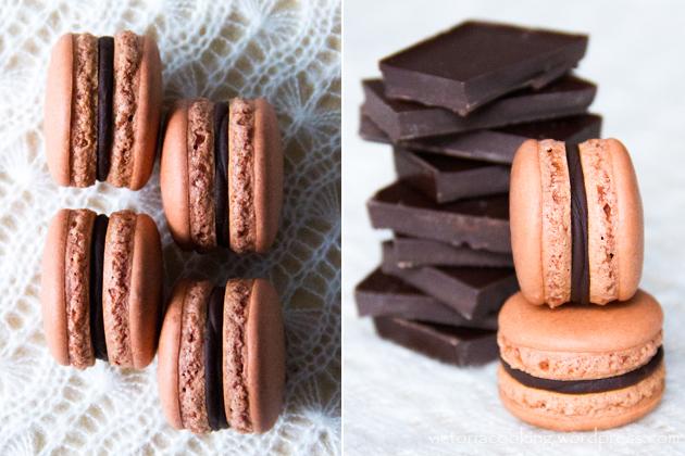07 - Herme - Шоколадные макаронс